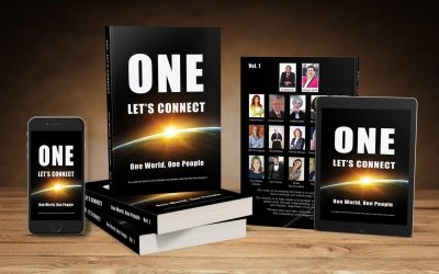 """Book called """"ONE: Let's Connect – One World, One People """""""